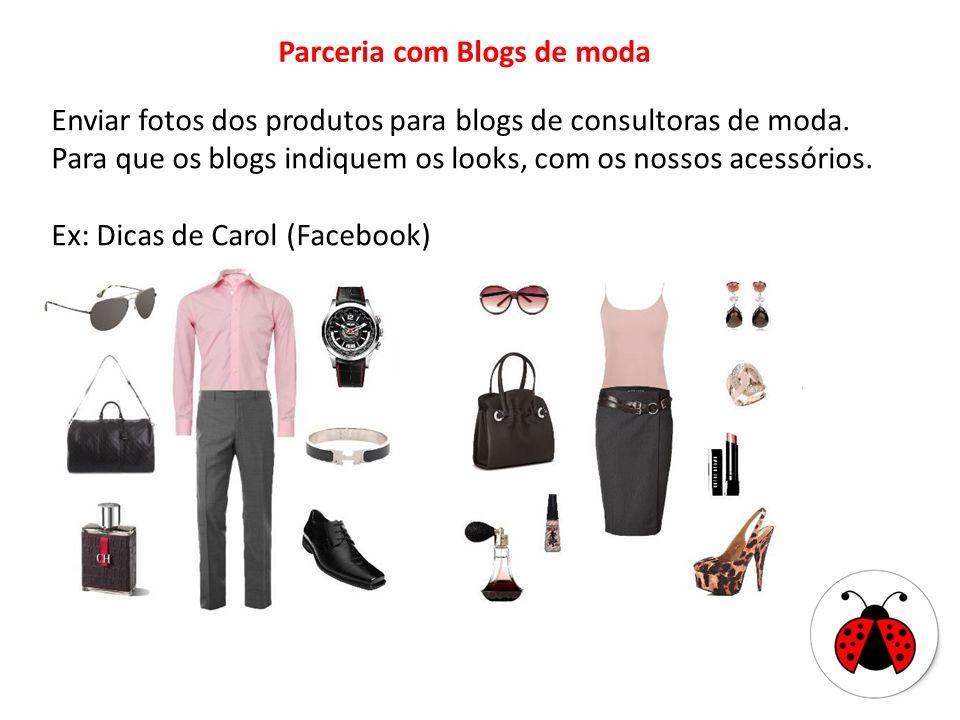 Parceria com Blogs de moda