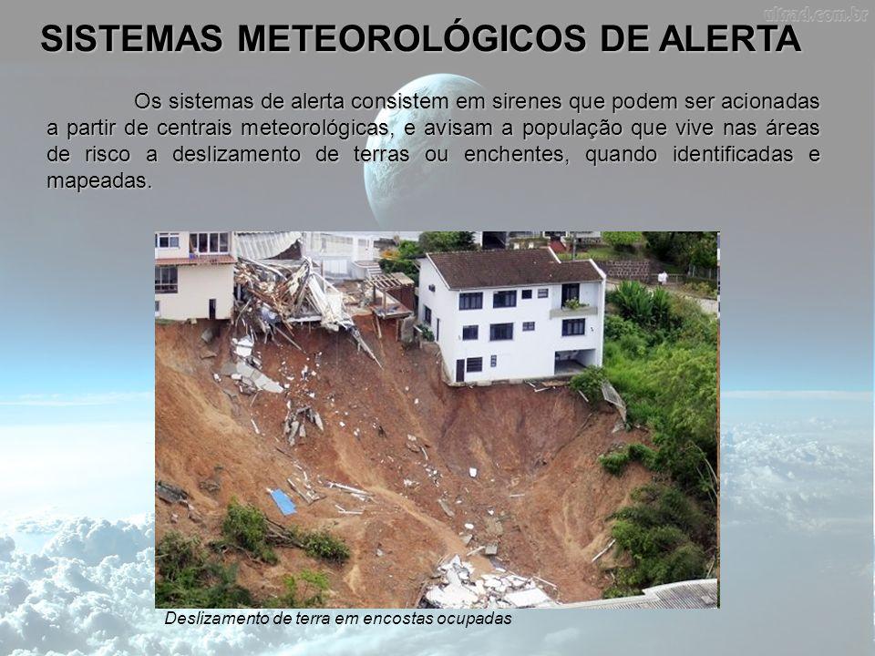 SISTEMAS METEOROLÓGICOS DE ALERTA