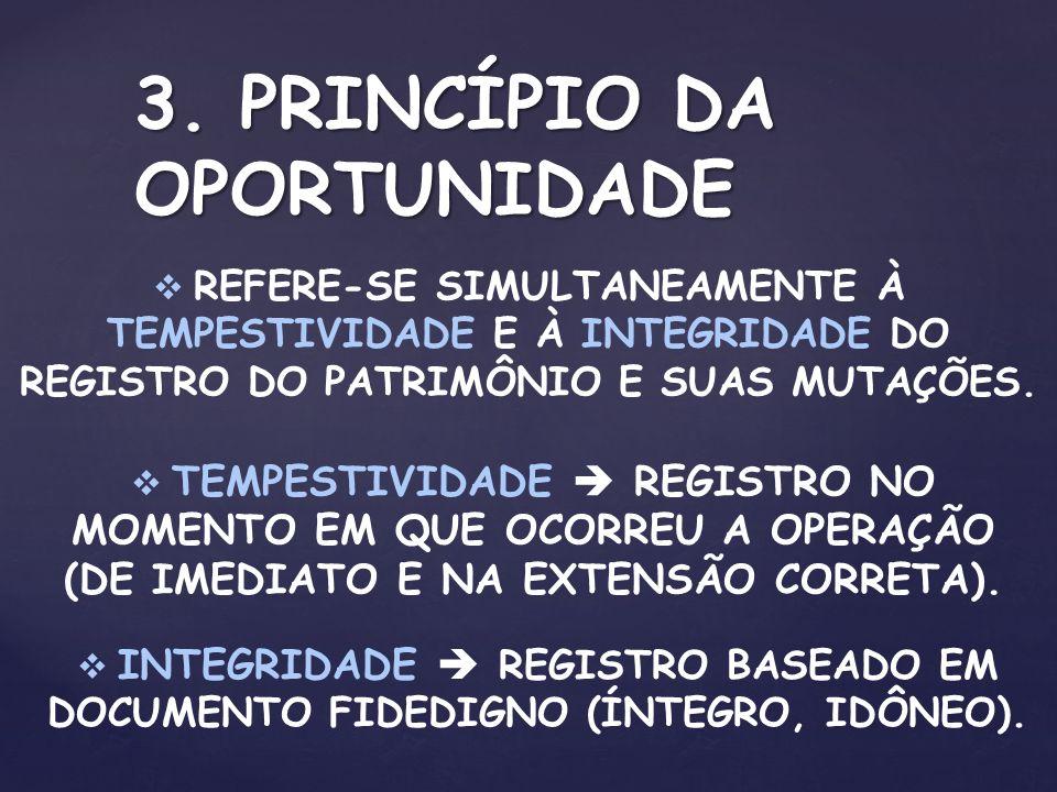 3. PRINCÍPIO DA OPORTUNIDADE