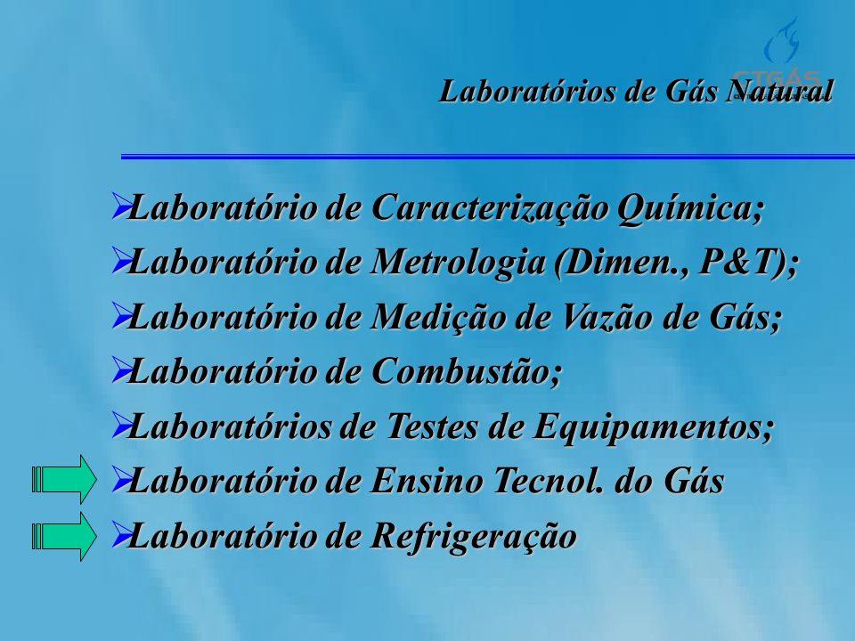 Laboratório de Caracterização Química;