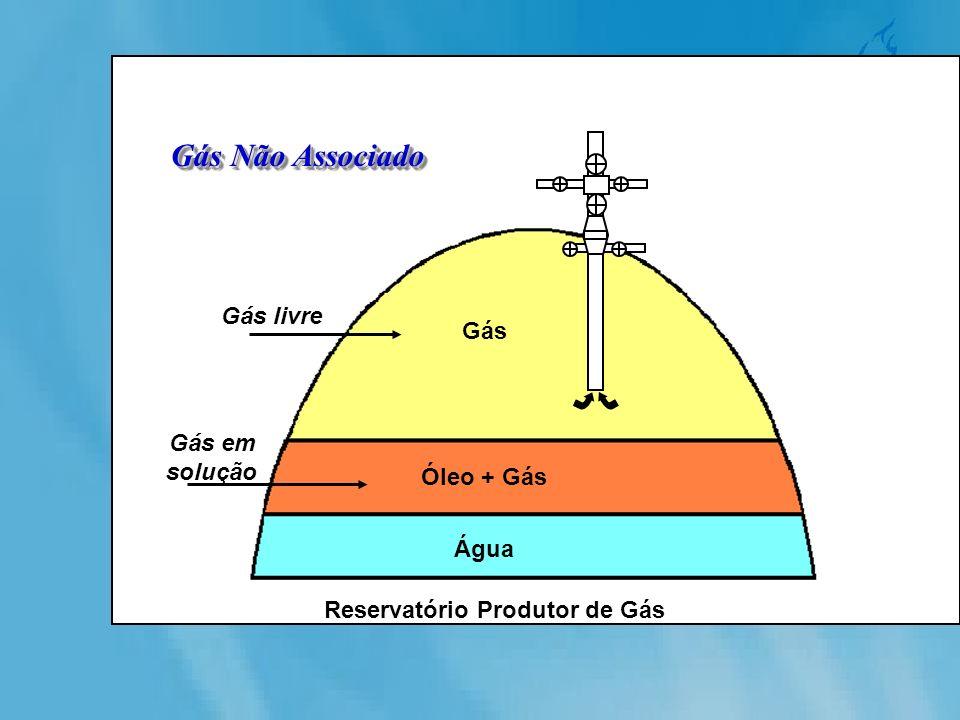 Reservatório Produtor de Gás