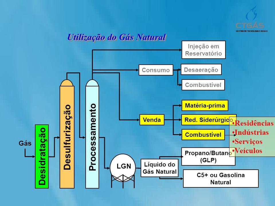 Desulfurização Processamento Desidratação