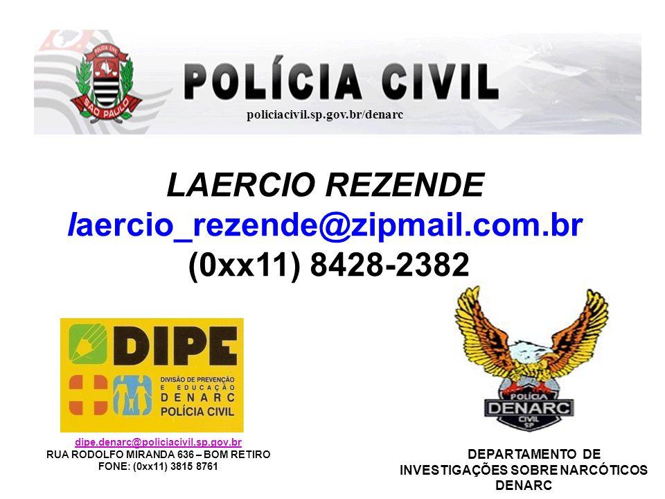 LAERCIO REZENDE laercio_rezende@zipmail.com.br (0xx11) 8428-2382
