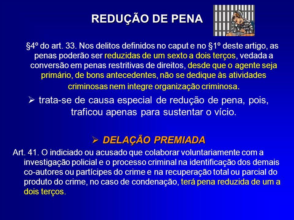 REDUÇÃO DE PENA