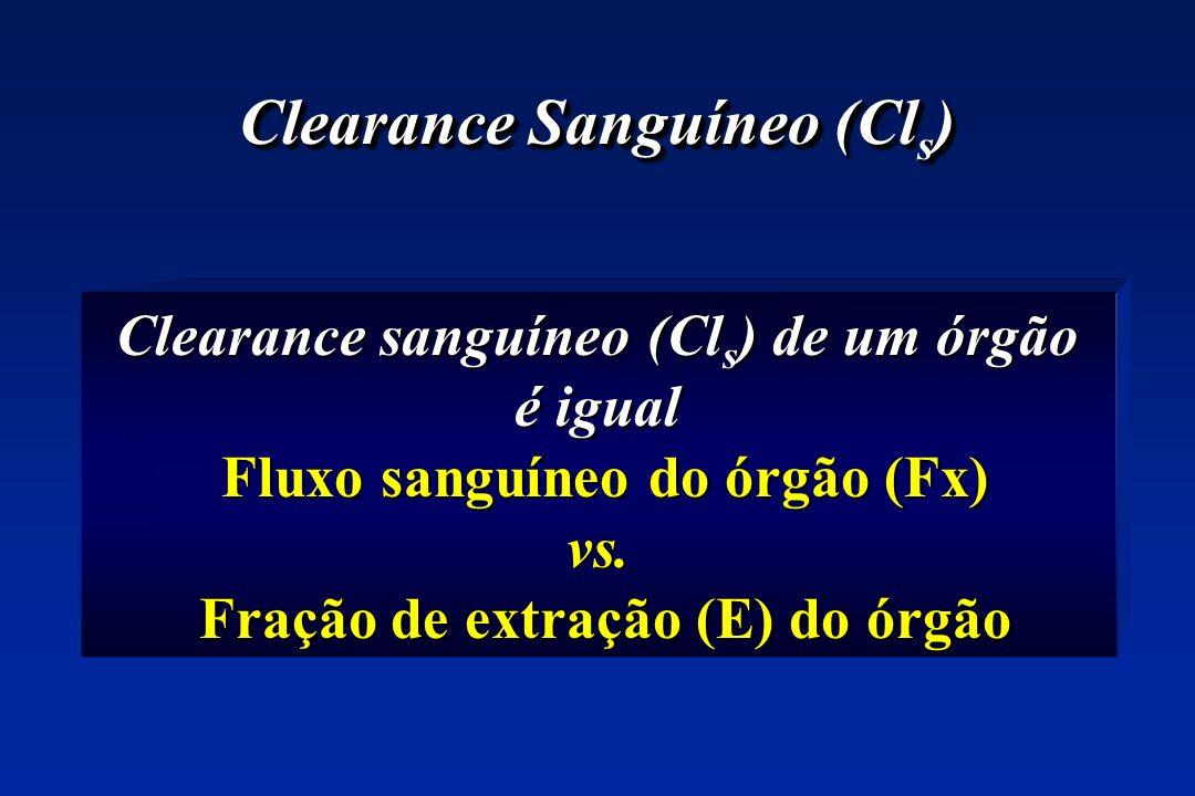 Clearance Sanguíneo (Cls)