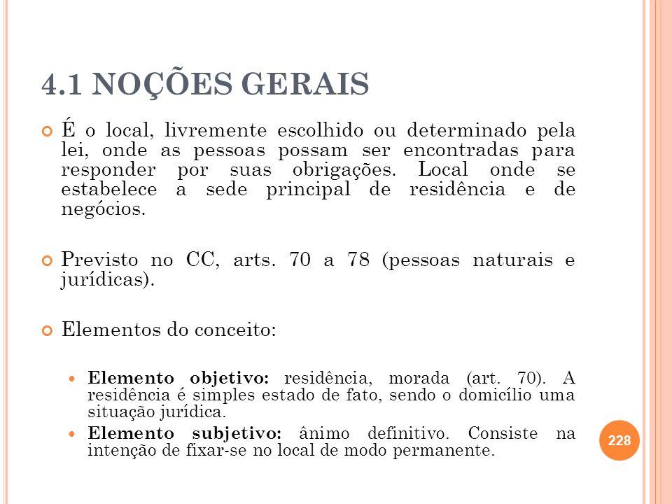 4.1 NOÇÕES GERAIS
