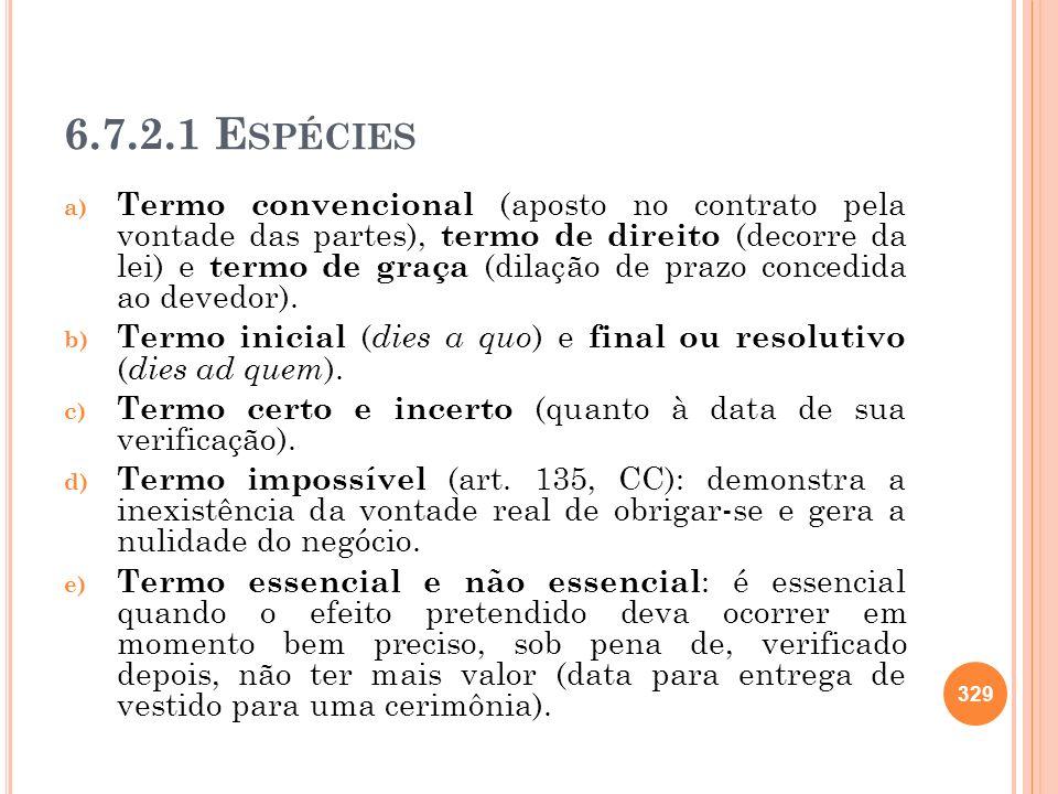 6.7.2.1 Espécies