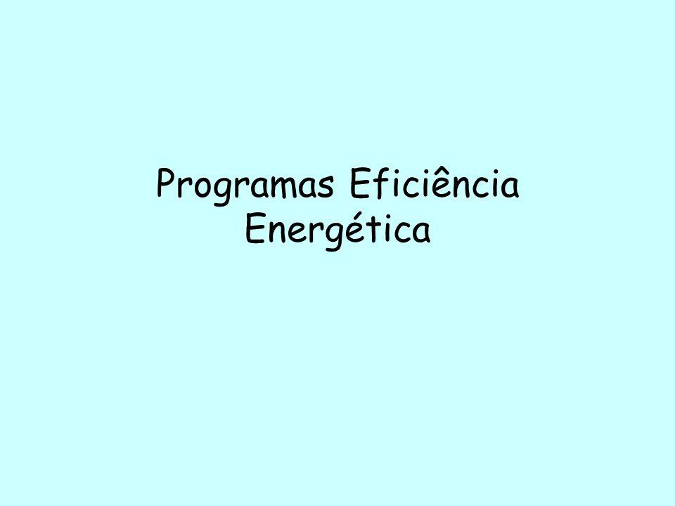 Programas Eficiência Energética