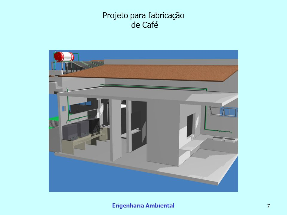 Projeto para fabricação de Café