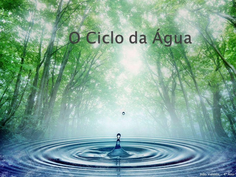 O Ciclo da Água João Valente - 4º Ano
