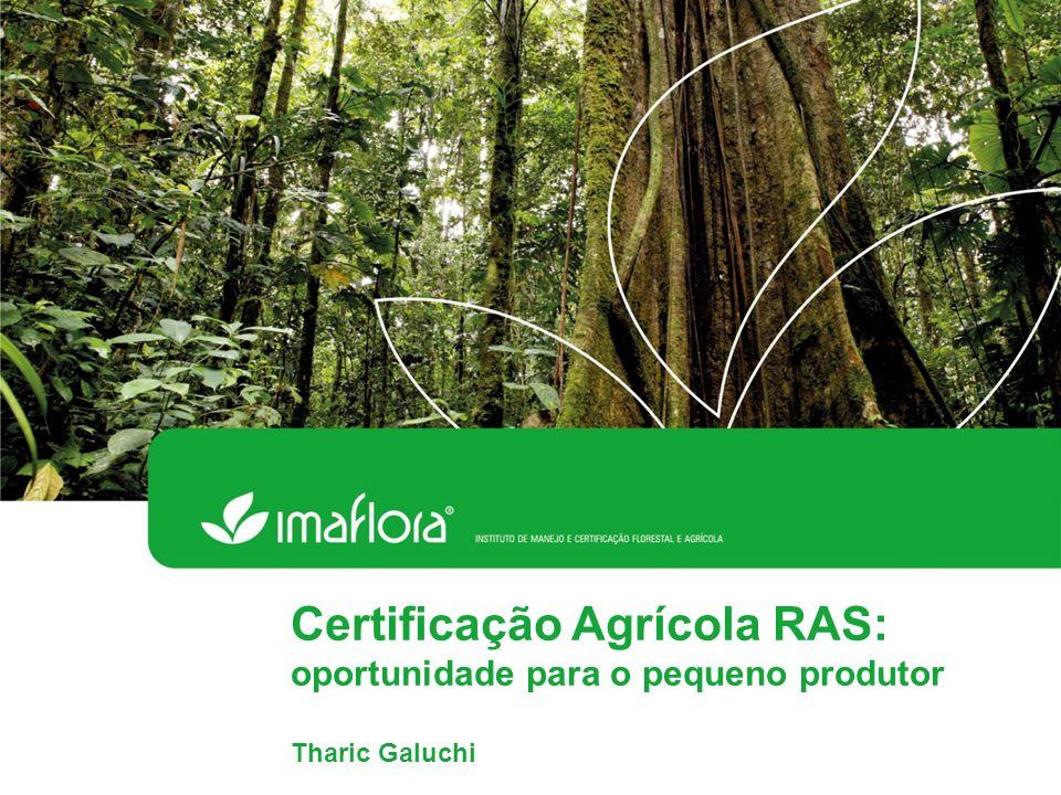 Certificação Agrícola RAS: