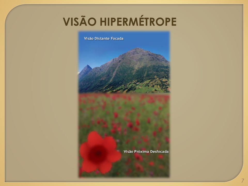 VISÃO HIPERMÉTROPE