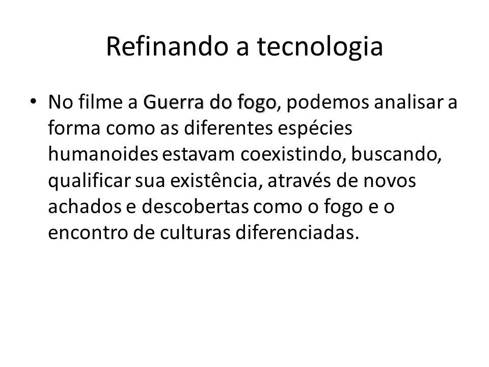 Refinando a tecnologia