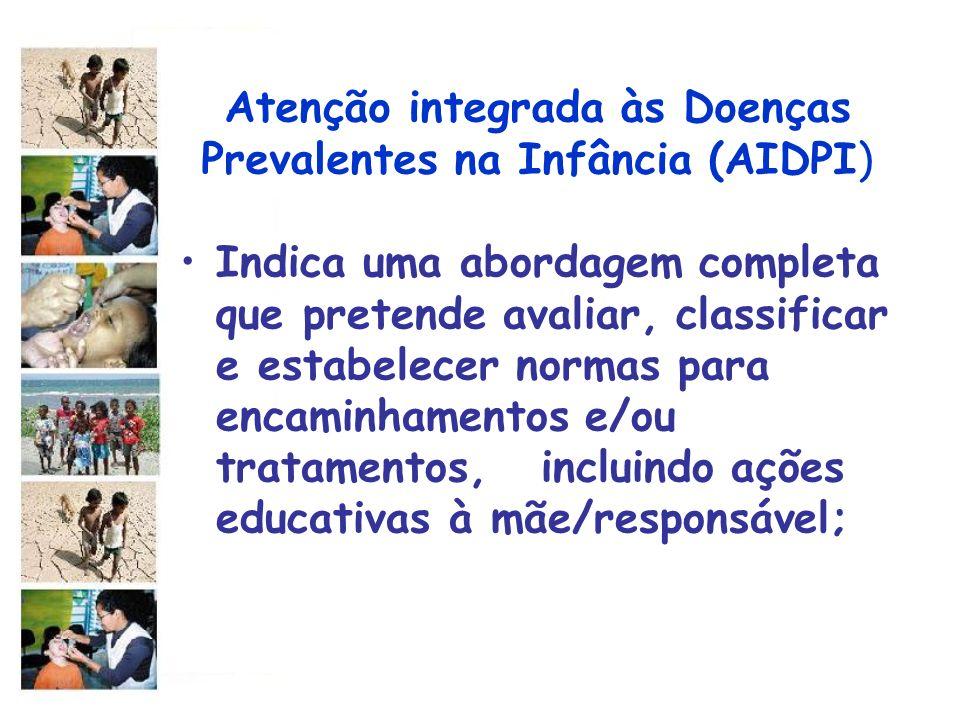 Atenção integrada às Doenças Prevalentes na Infância (AIDPI)