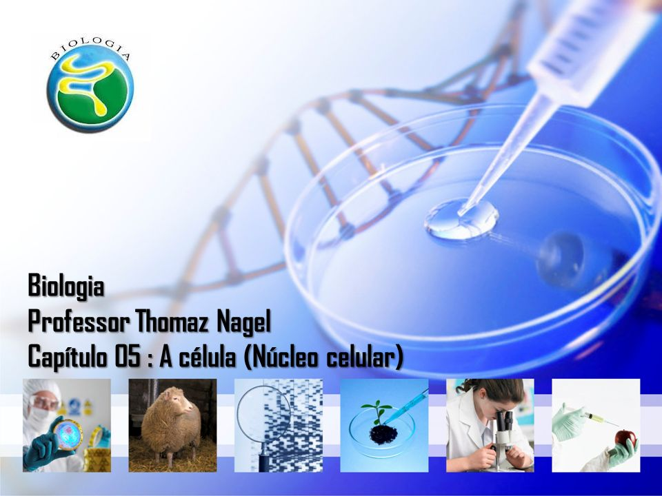 Biologia Professor Thomaz Nagel Capítulo 05 : A célula (Núcleo celular)