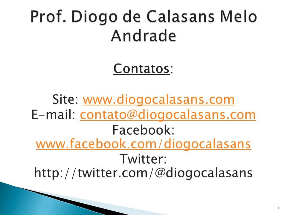 Prof. Diogo de Calasans Melo Andrade