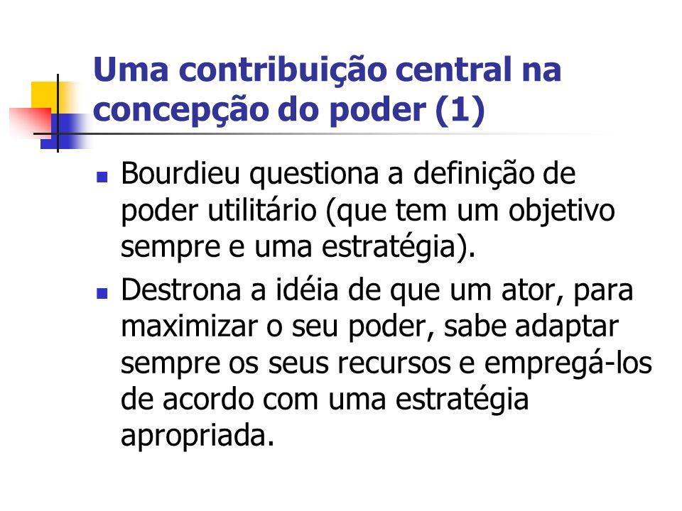 Uma contribuição central na concepção do poder (1)