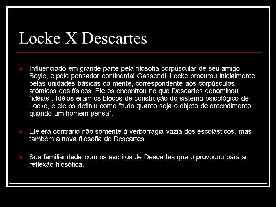 Locke X Descartes