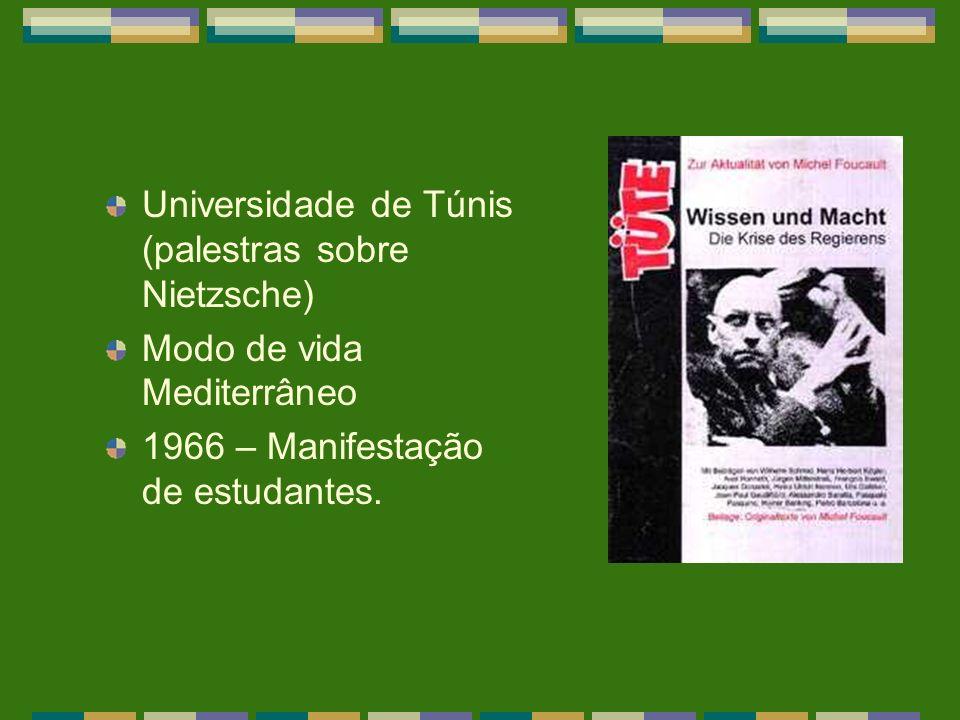 Universidade de Túnis (palestras sobre Nietzsche)
