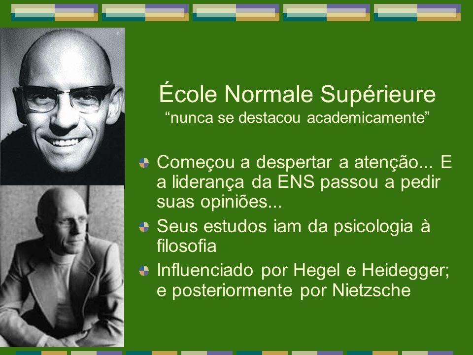 École Normale Supérieure nunca se destacou academicamente
