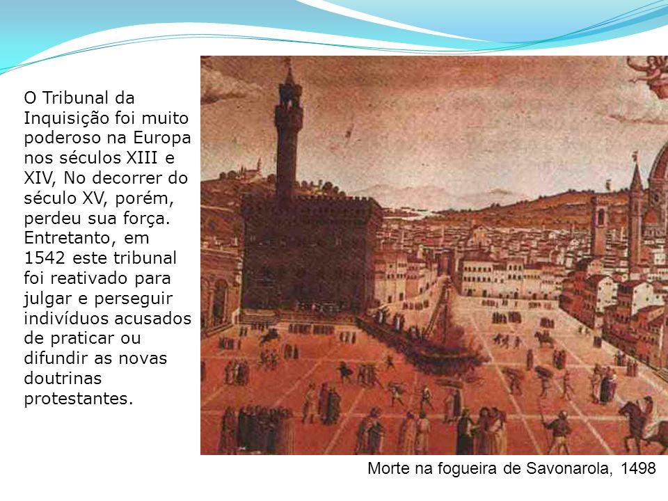 Morte na fogueira de Savonarola, 1498