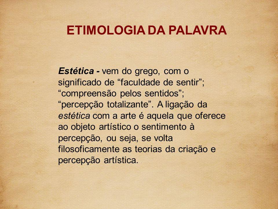 ETIMOLOGIA DA PALAVRA