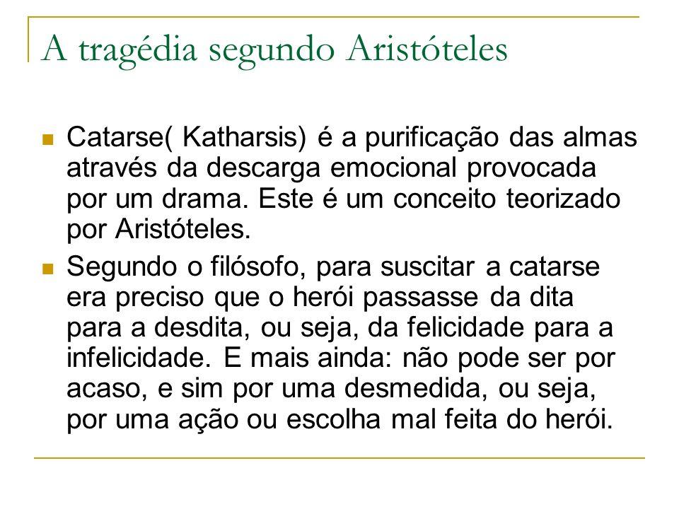 A tragédia segundo Aristóteles