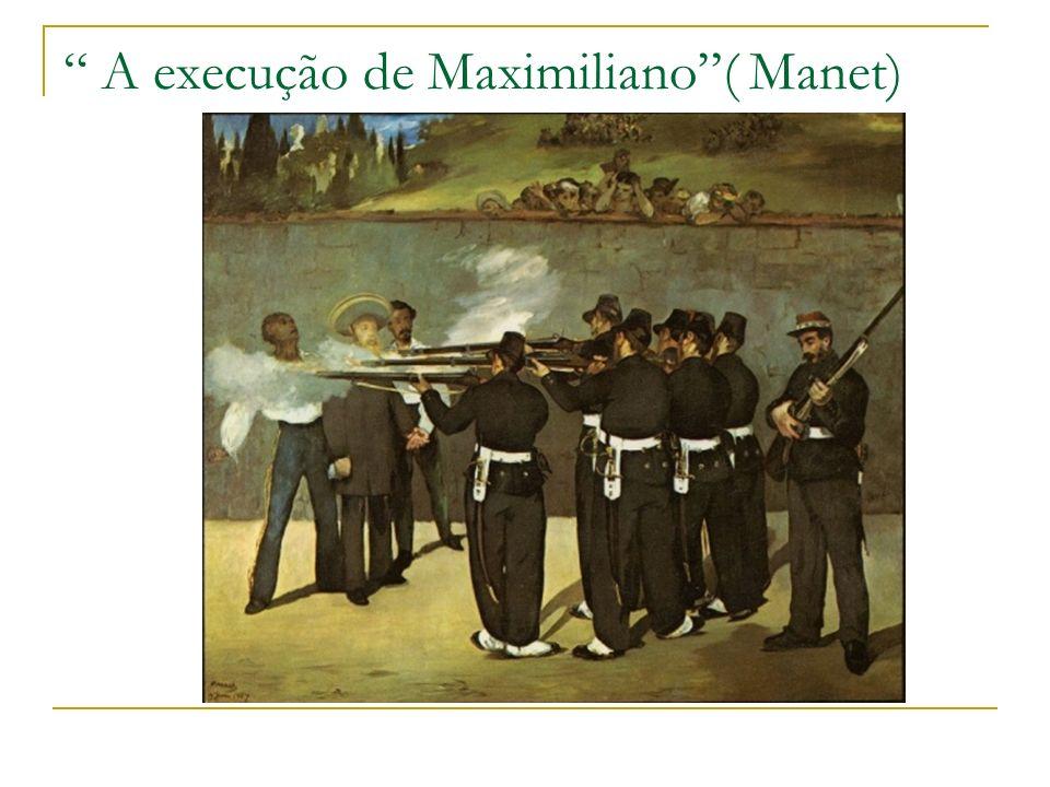 A execução de Maximiliano ( Manet)