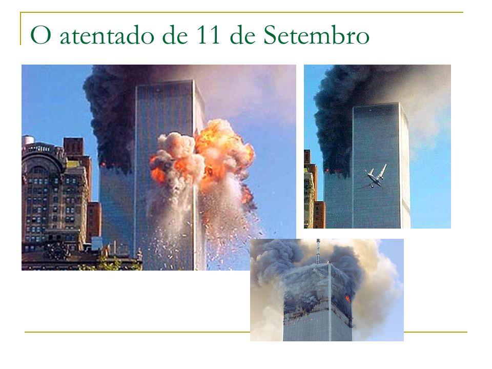 O atentado de 11 de Setembro