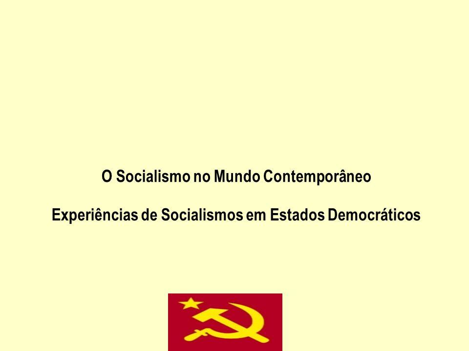O Socialismo no Mundo Contemporâneo