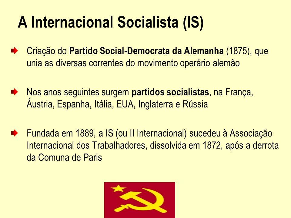 A Internacional Socialista (IS)