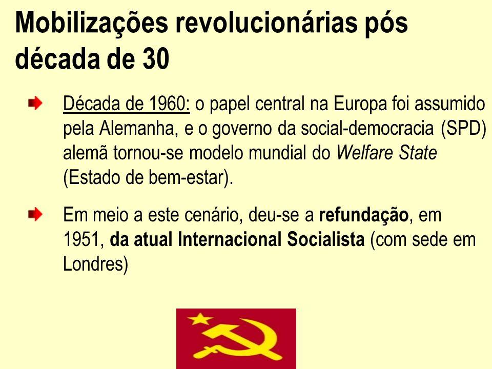 Mobilizações revolucionárias pós década de 30