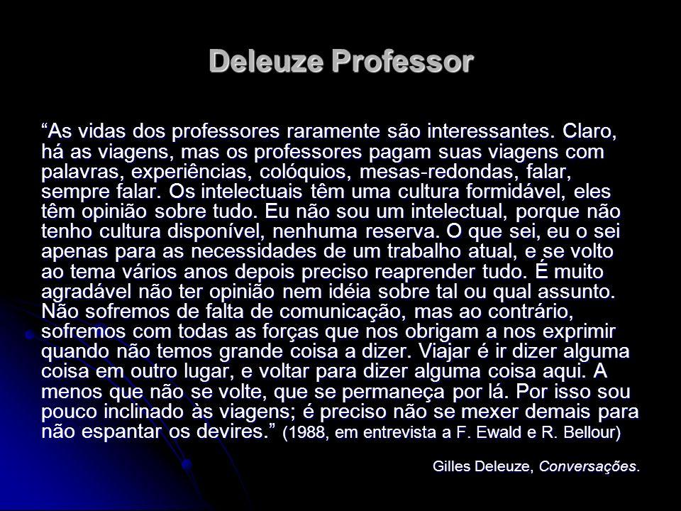 Deleuze Professor