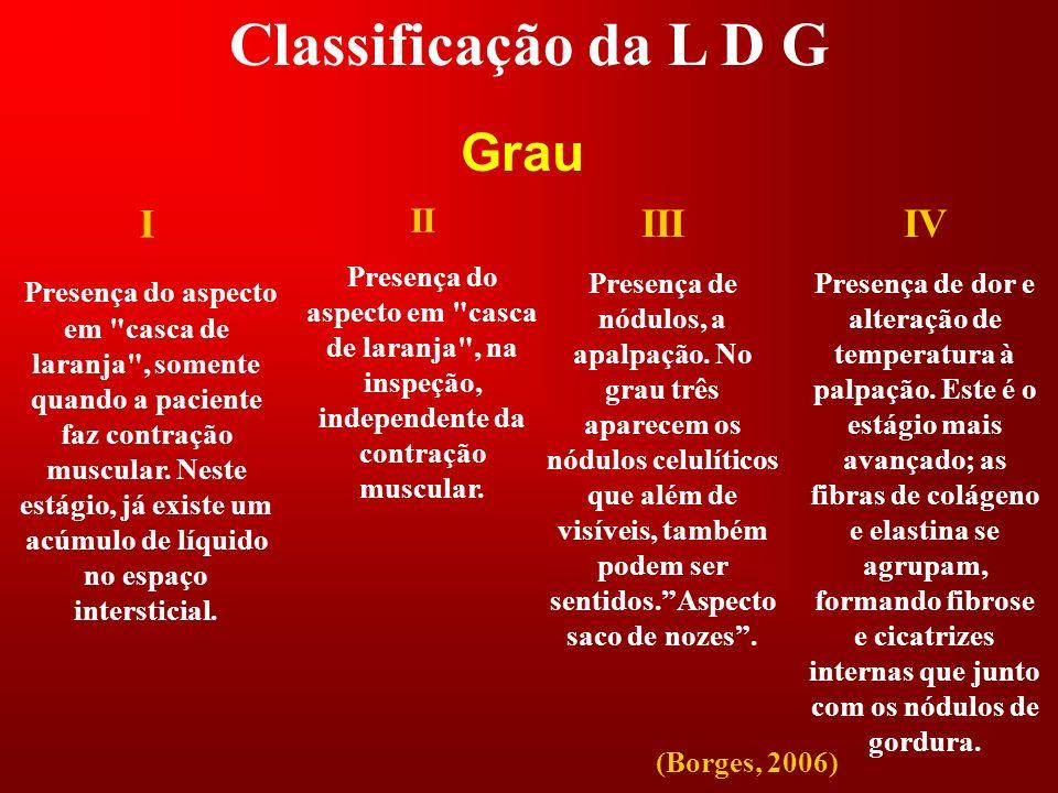 Classificação da L D G Grau I III IV II
