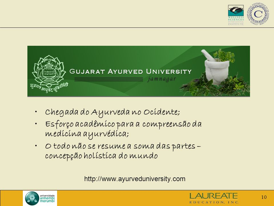 Chegada do Ayurveda no Ocidente;