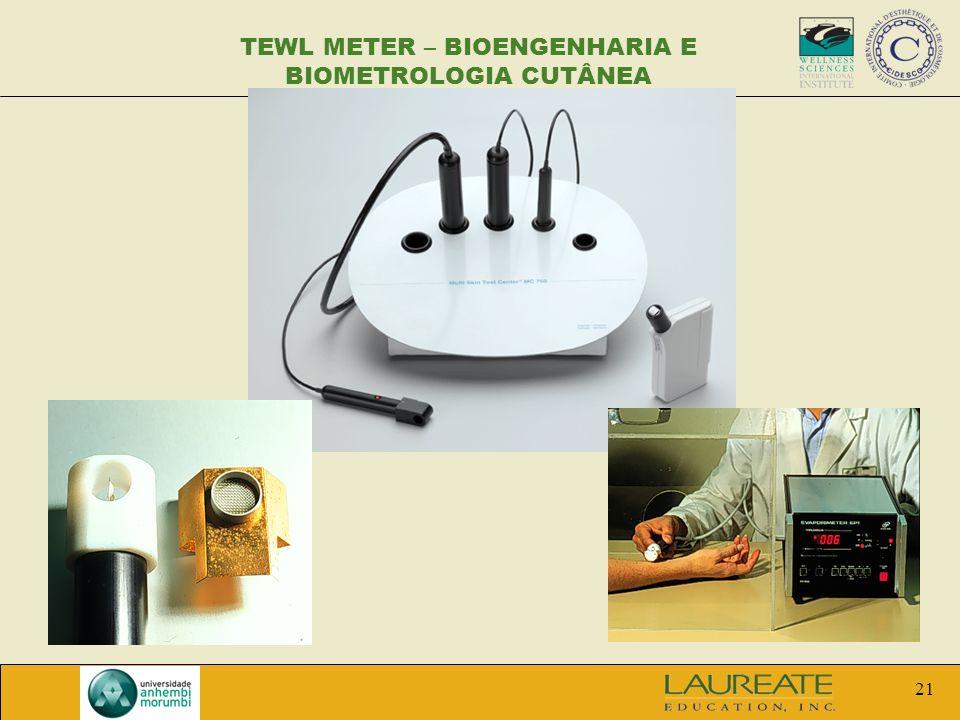 TEWL METER – BIOENGENHARIA E BIOMETROLOGIA CUTÂNEA