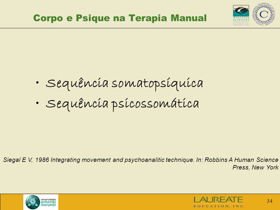 Corpo e Psique na Terapia Manual