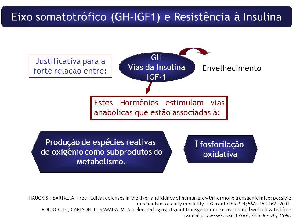 Eixo somatotrófico (GH-IGF1) e Resistência à Insulina
