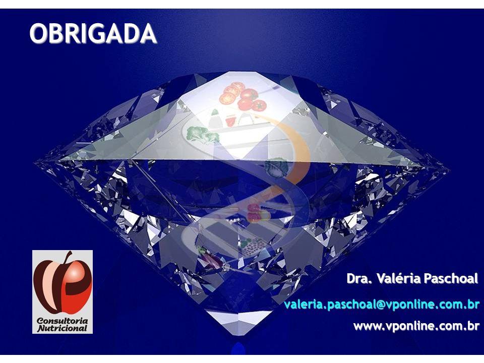 OBRIGADA Dra. Valéria Paschoal valeria.paschoal@vponline.com.br
