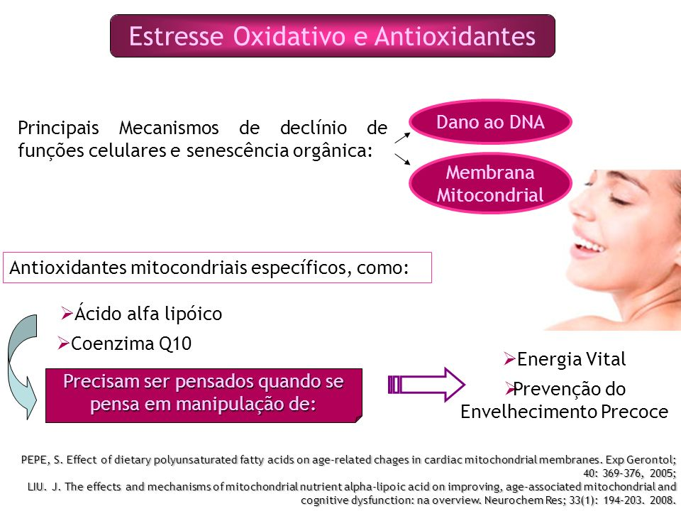 Estresse Oxidativo e Antioxidantes