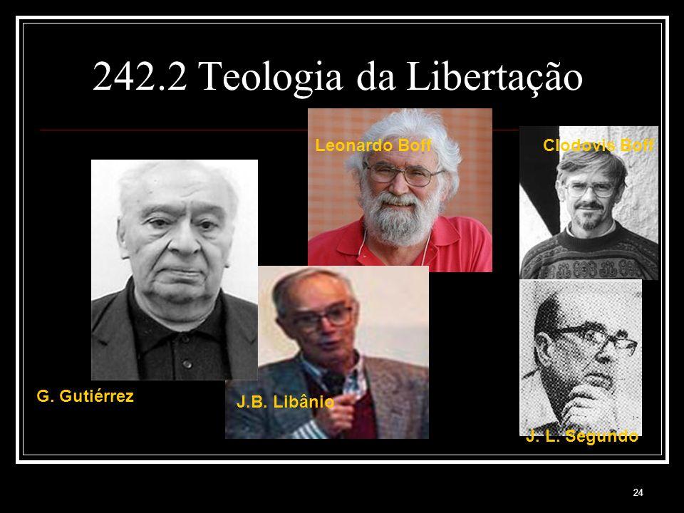 242.2 Teologia da Libertação