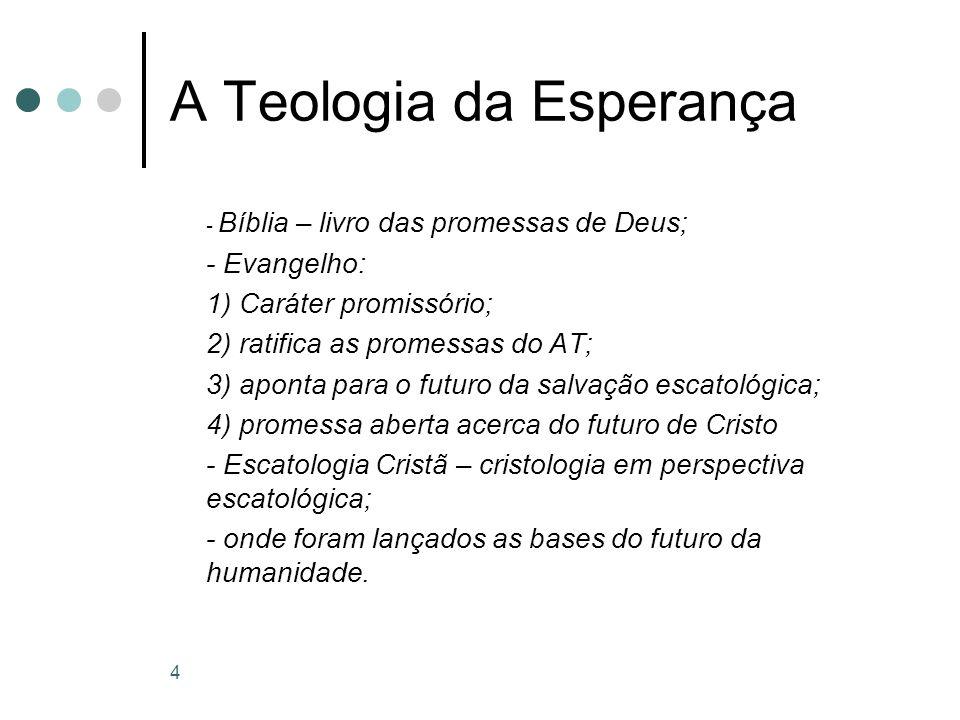 A Teologia da Esperança