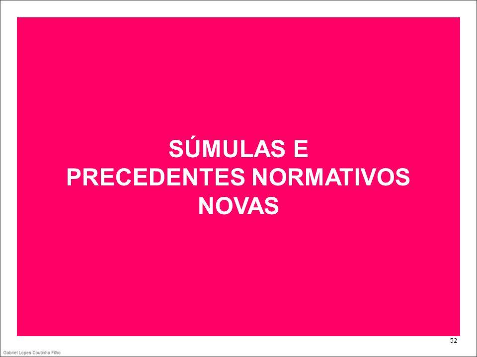 PRECEDENTES NORMATIVOS