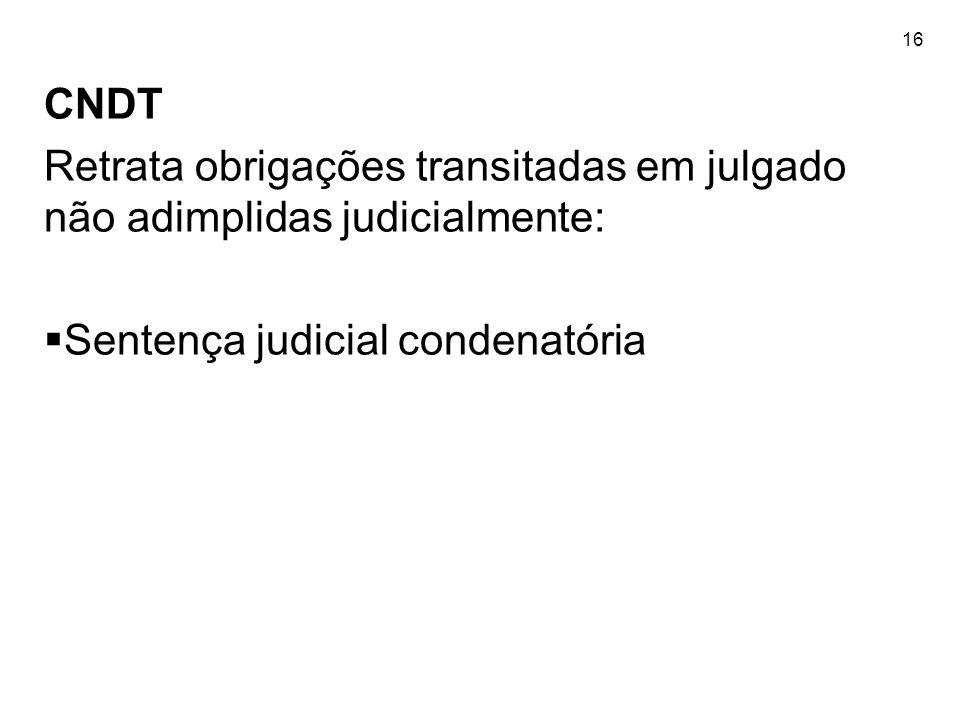 Sentença judicial condenatória
