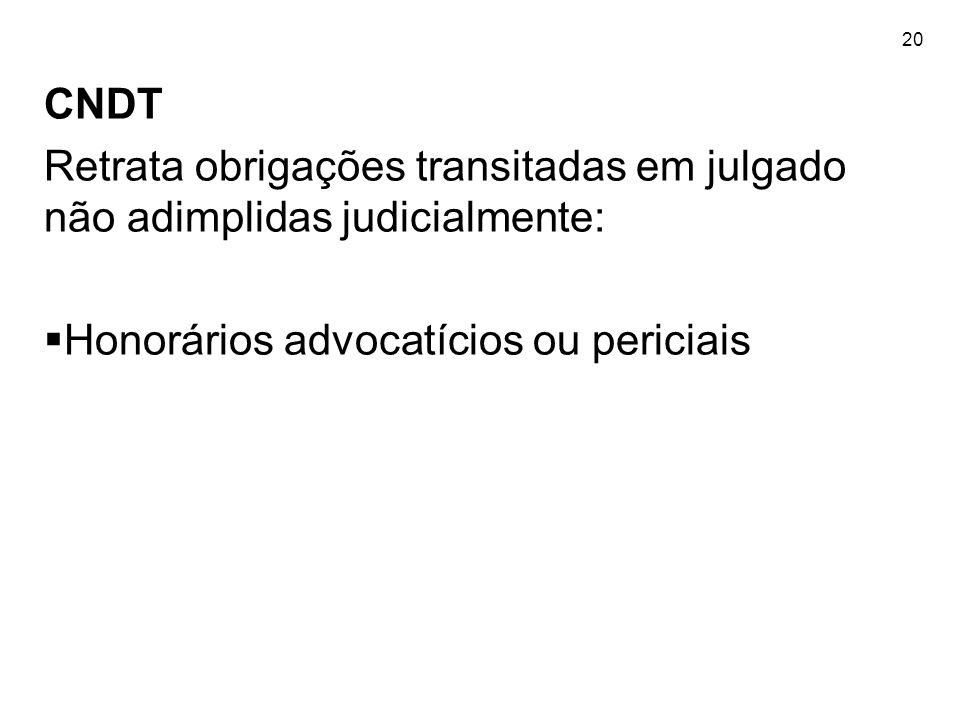 Honorários advocatícios ou periciais