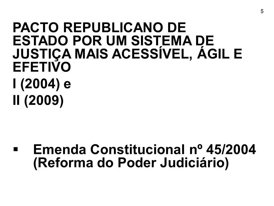 Emenda Constitucional nº 45/2004 (Reforma do Poder Judiciário)