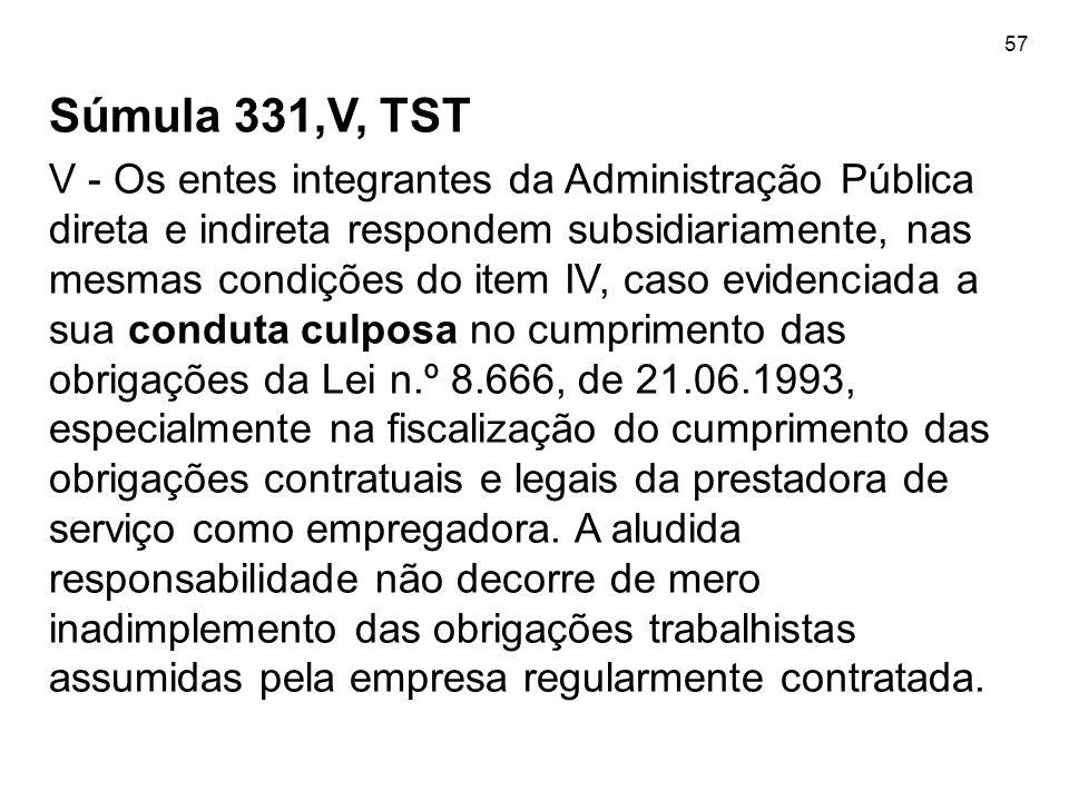 57Súmula 331,V, TST.