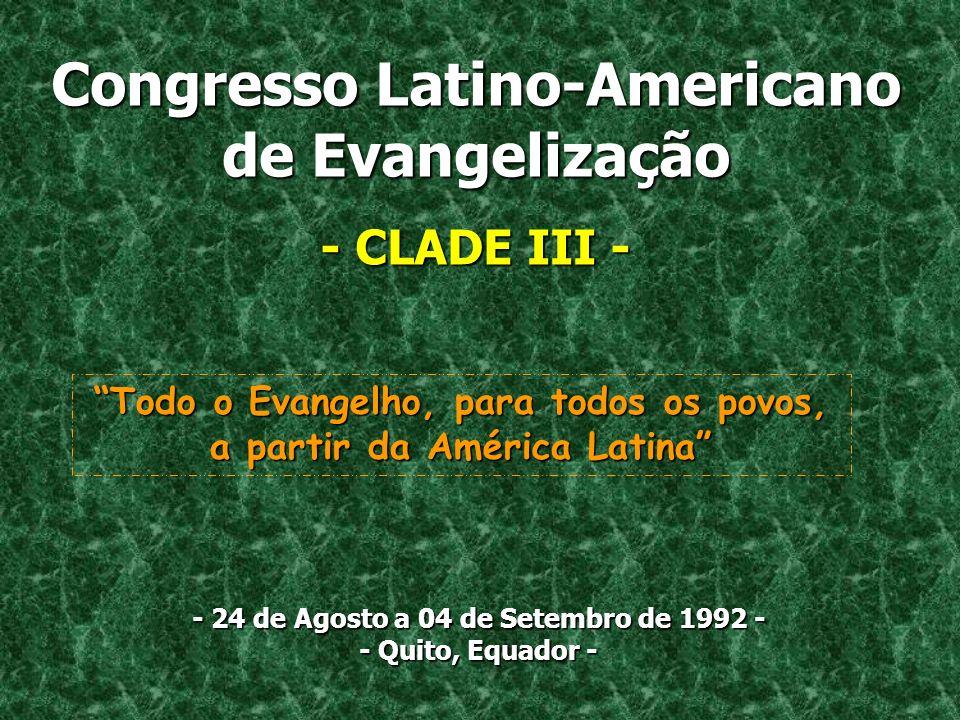 Congresso Latino-Americano de Evangelização