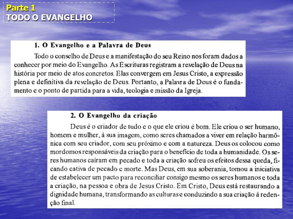 Parte 1 TODO O EVANGELHO