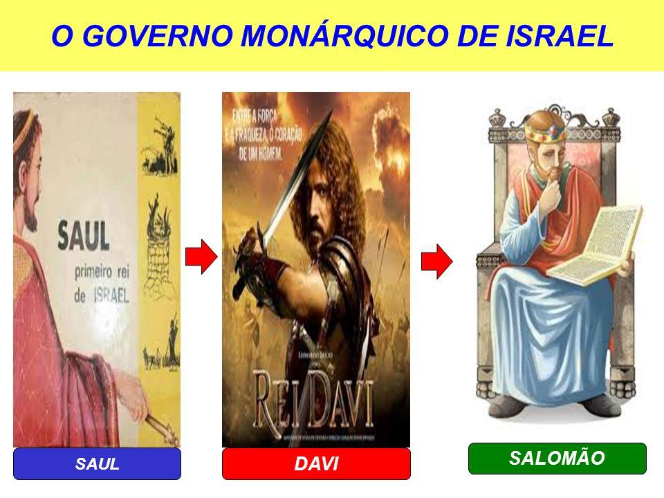 O GOVERNO MONÁRQUICO DE ISRAEL
